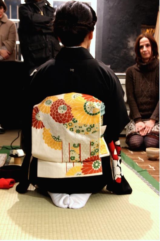 Senyo Machida cerimonia del tè