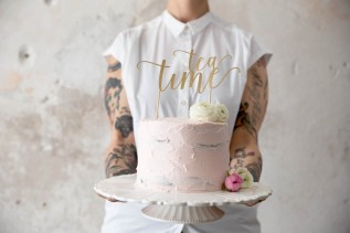di feste, torte e tè dellecinque